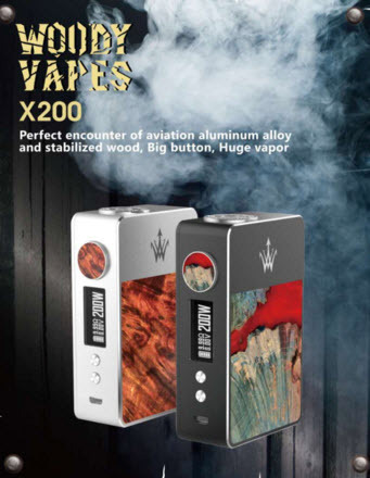 WOODY VAPES X200